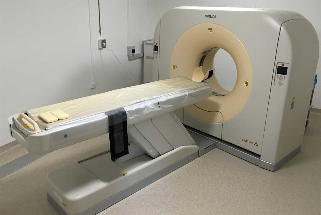 Cat CT Scanner